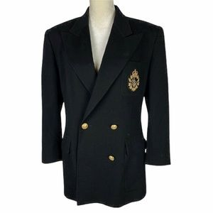 Vintage Ralph Lauren Double Breasted Blazer 14